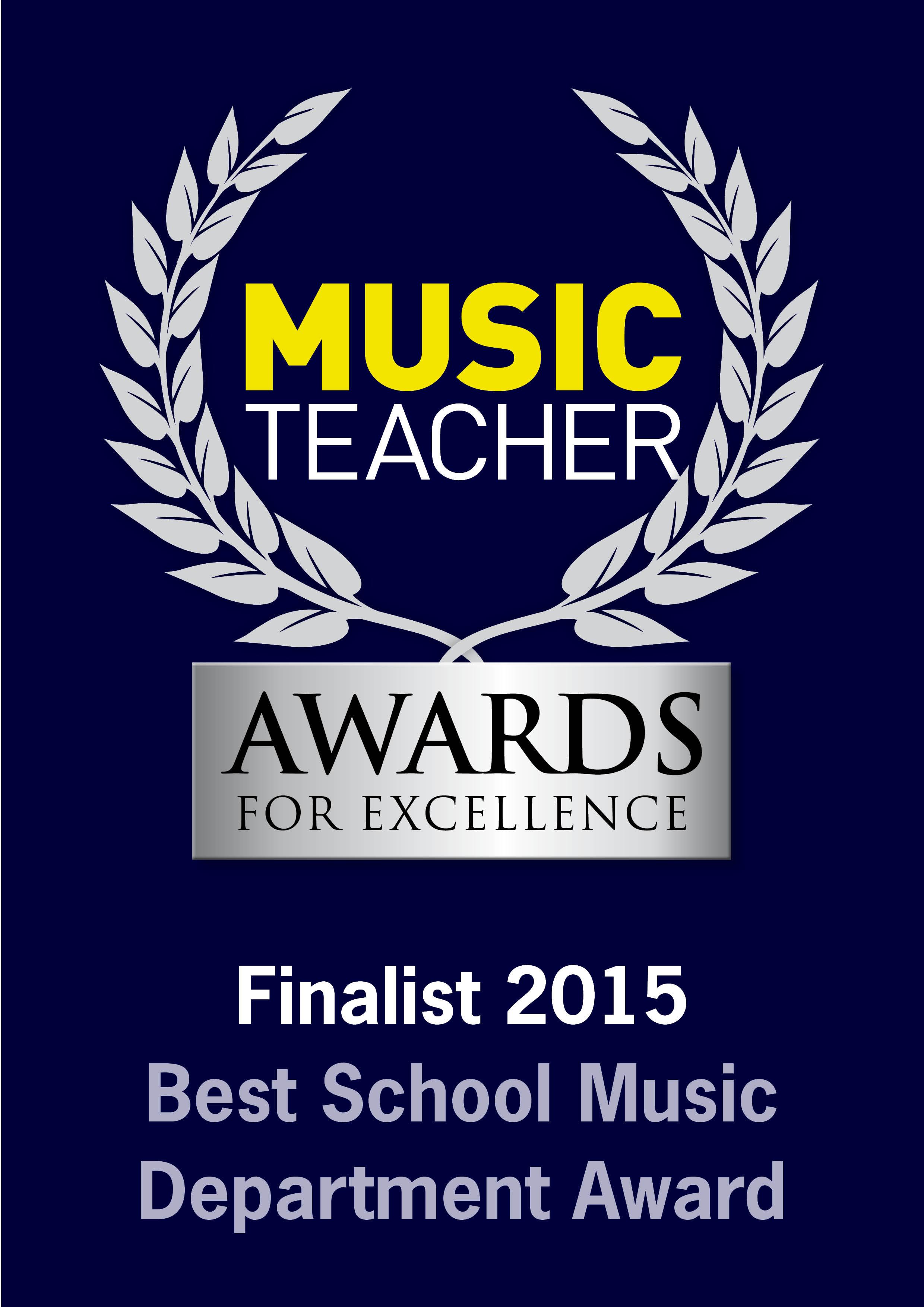 Best School Music Dept 2015