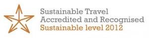 sustainable travel accreditation logo