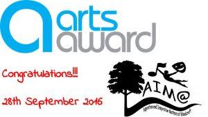 Woodcroft Arts Award Presentation