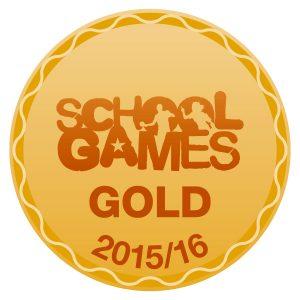 school games gold award 2016
