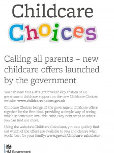 Childcare Choices – Partner toolkit