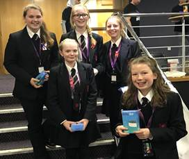 Girls STEM Event - winning team
