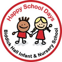 Biddick Hall Infant and Nursery School Logo