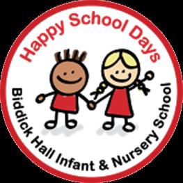 Biddick Hall Infant and Nursery School Logo