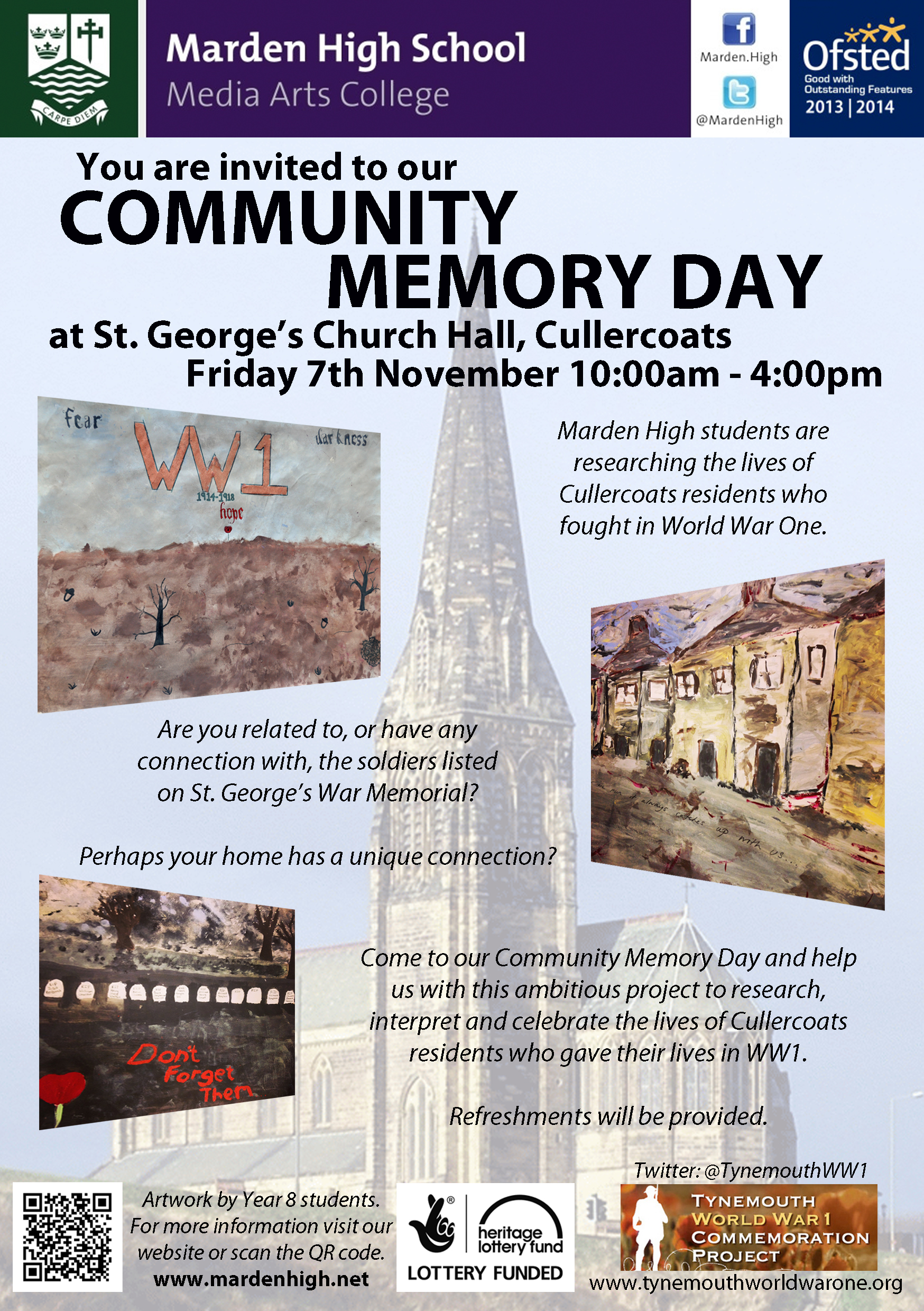 Community Memory Day Poster