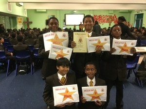Year 7 Skills Day Winners 2015-16