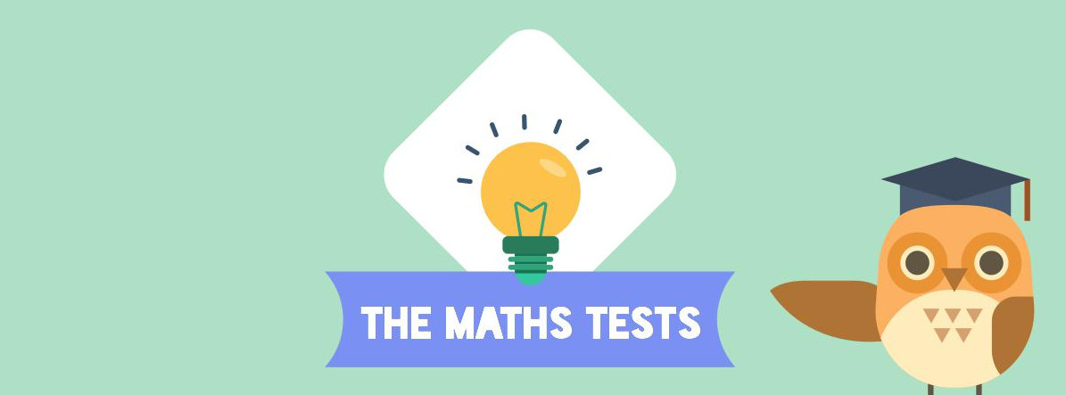 Maths tests header