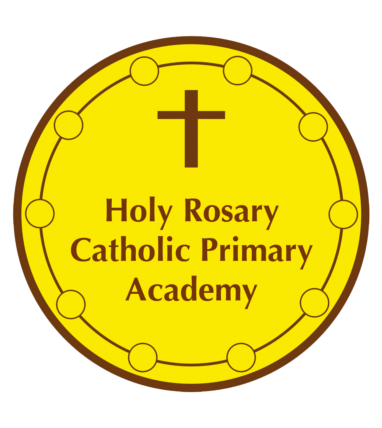 school logo Holy Rosary