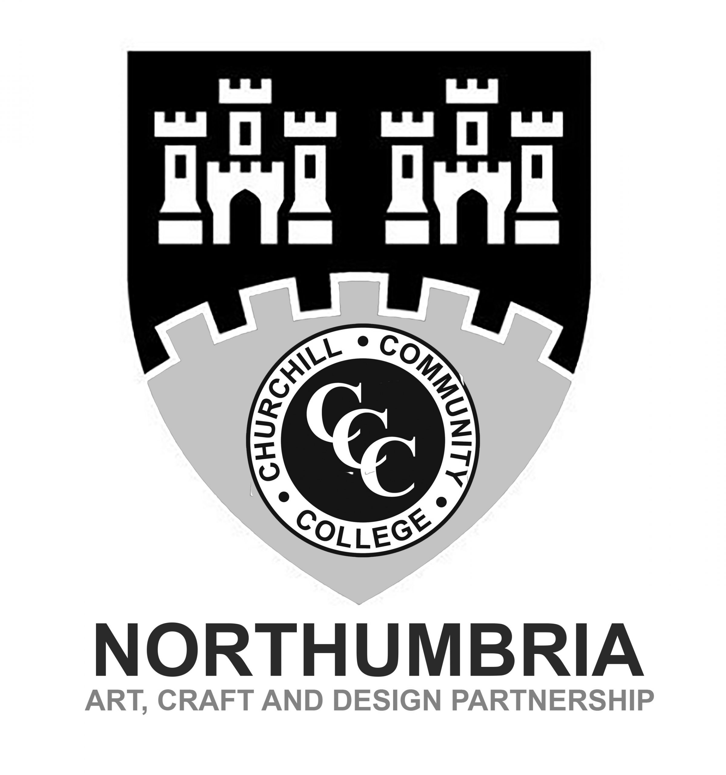 Northumbria Art, Craft and Design Partnership Logo