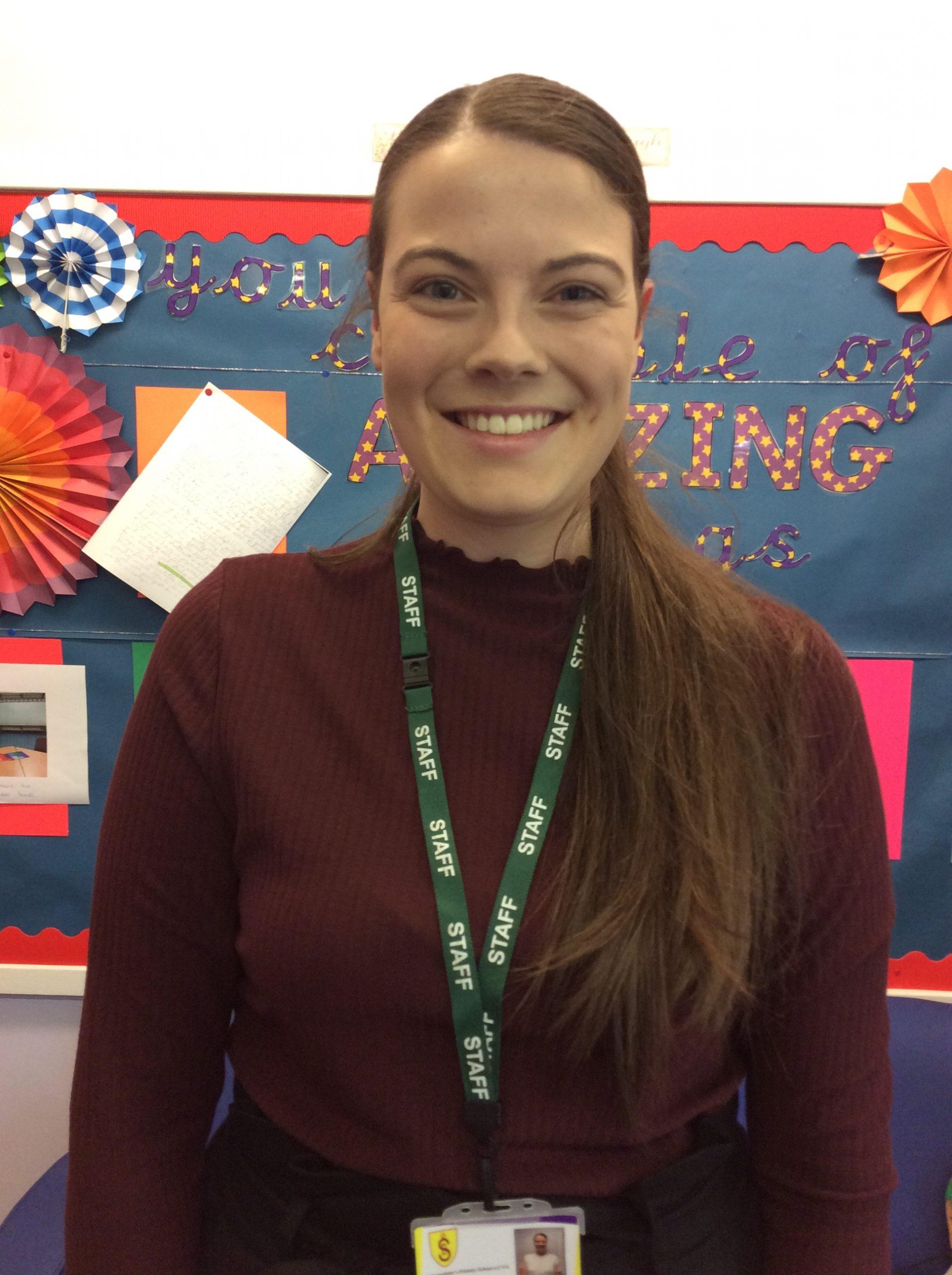 Miss E Lumley : Nursery Class teacher (2 days)