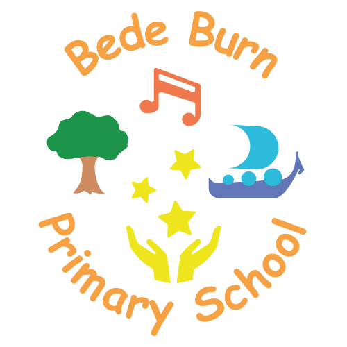Bede Burn Primary School's logo