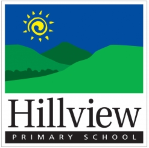 Hillview Primary School's logo