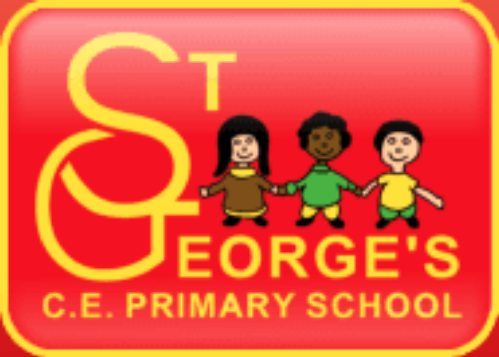St Georges C of E Primary Mossley's logo