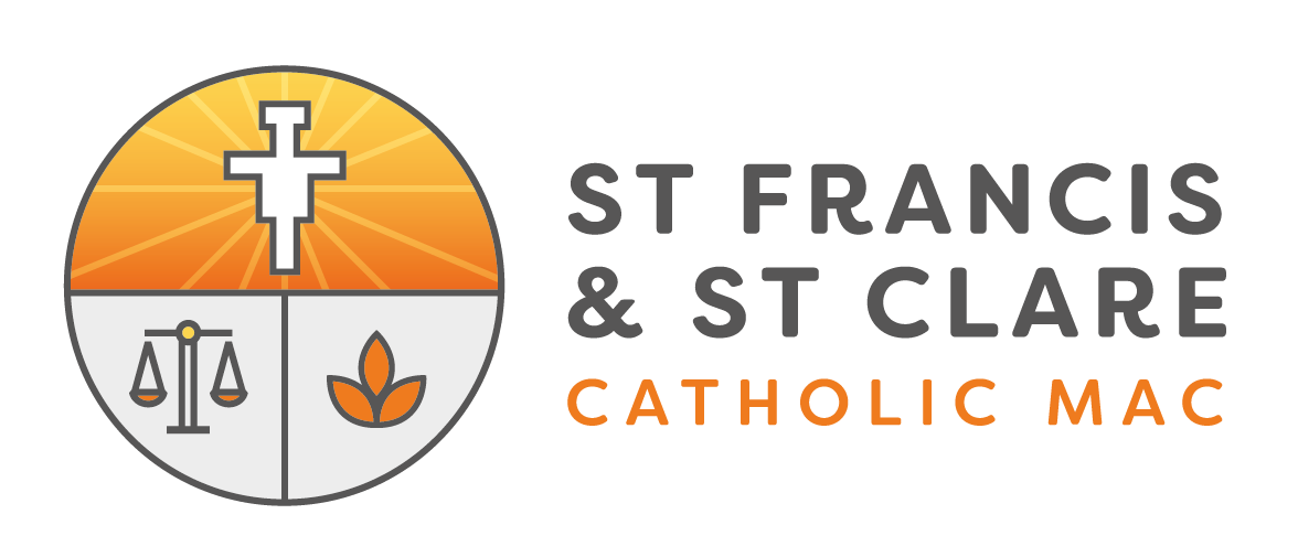 St Francis and St Clare Catholic MAC Logo