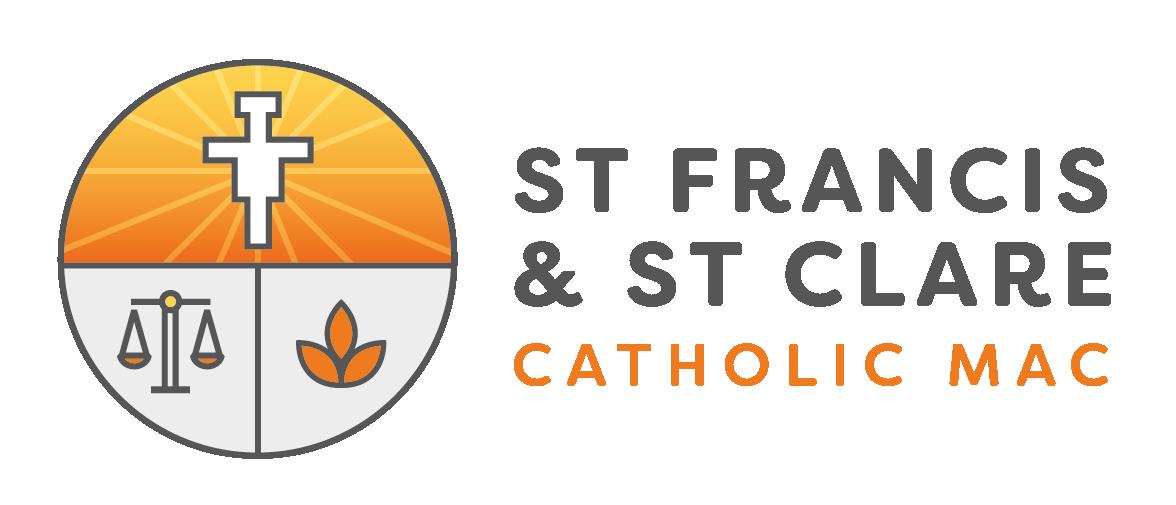 St Francis and St Clare Catholic MAC Logo