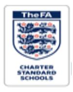 The FA Charter Standard Schools logo