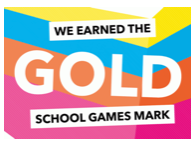 Gold School Games award logo