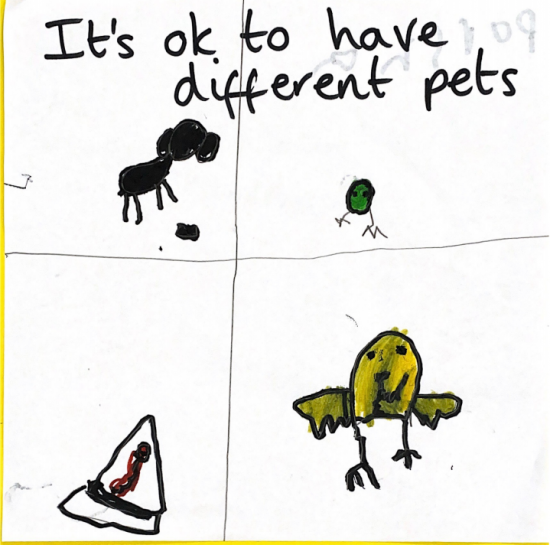 It's ok to have different pets