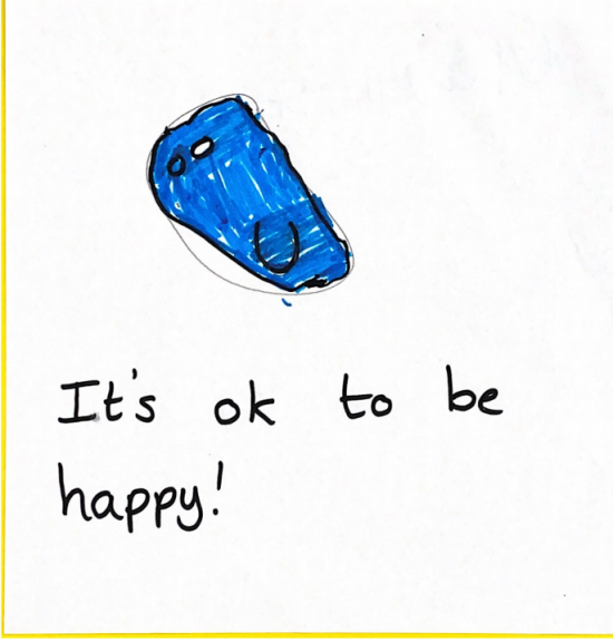 It's ok to be happy
