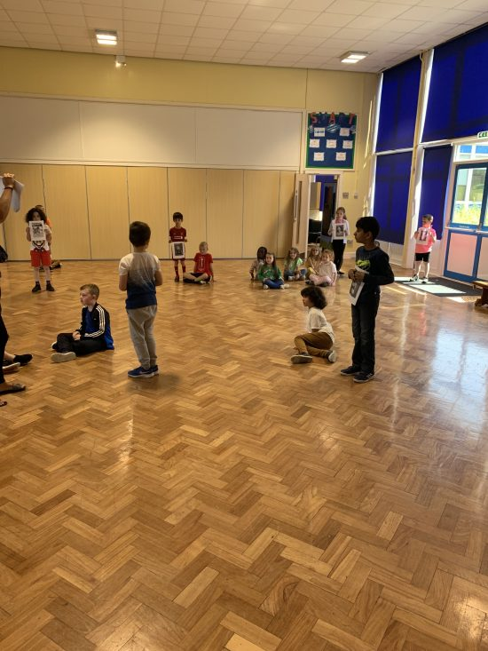 Year 2 learning about LGBT+ sportspeople