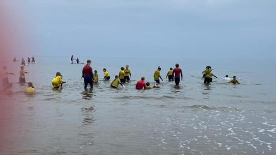 Year 5 in the water