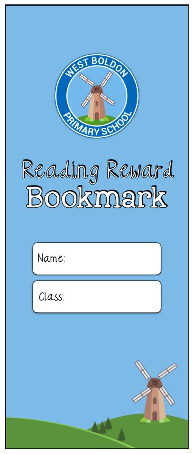 Reading bookmark 2