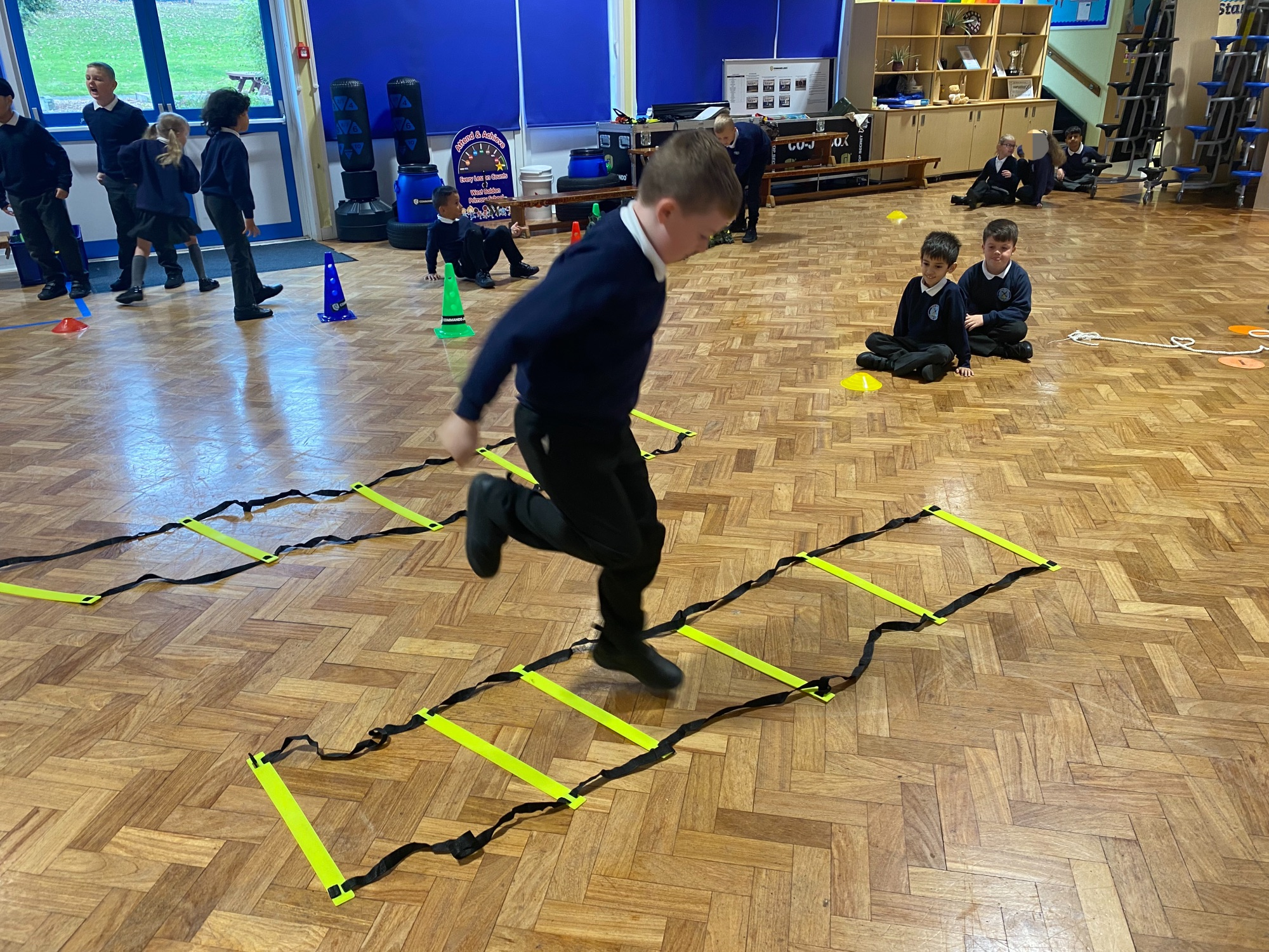 Year 3 on their mission across the Amazon
