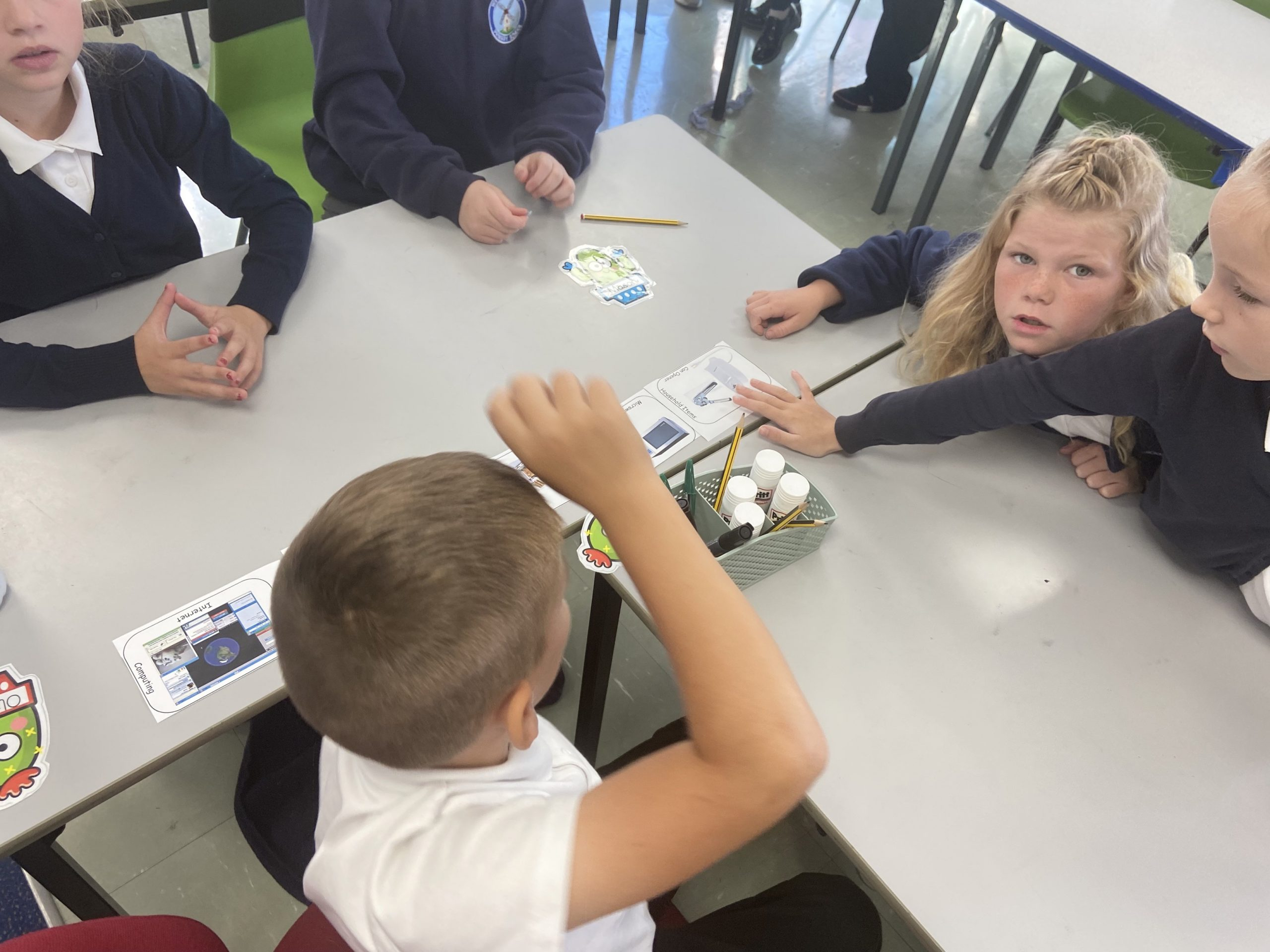 year 4 learning about networks