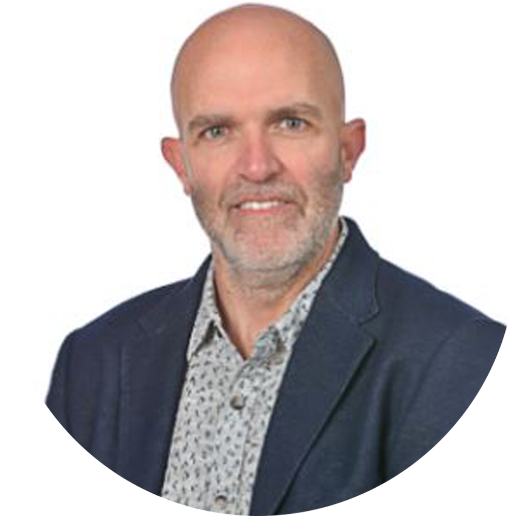 Headteacher Damien Johnston